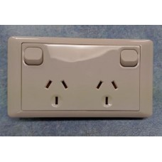 CMS 10amp Double Power Outlet